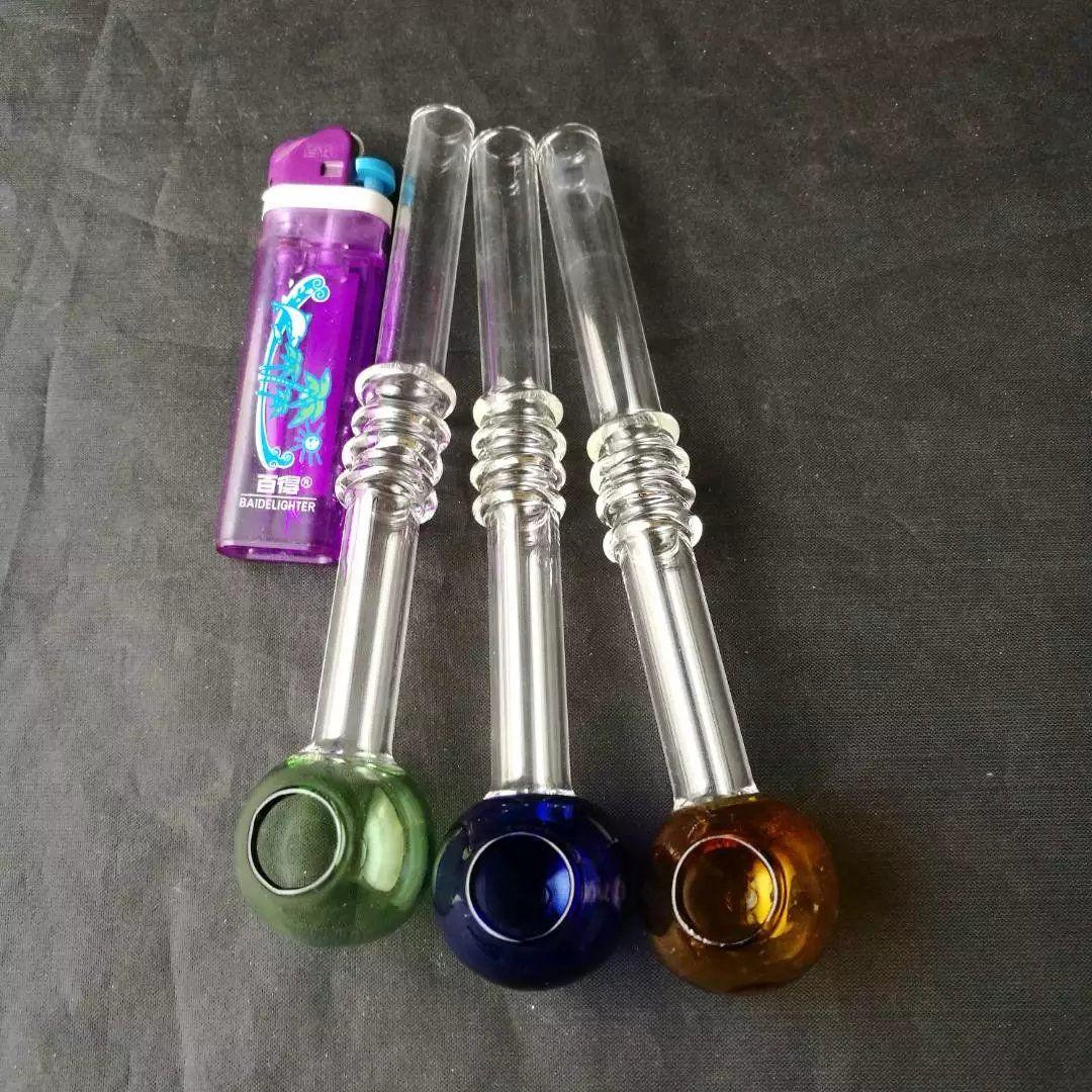 Ücretsiz kargo 15 cm uzun cam boru, Renkler rastgele gönderilir
