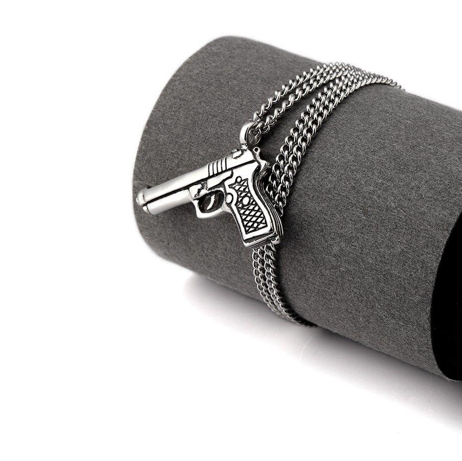 Gun Pendant Necklace_10