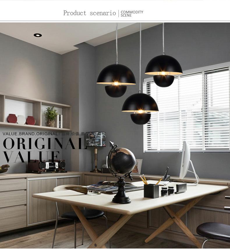 Großhandel Eisen Restaurant Kronleuchter Moderne Bar Lampe Nordic ...