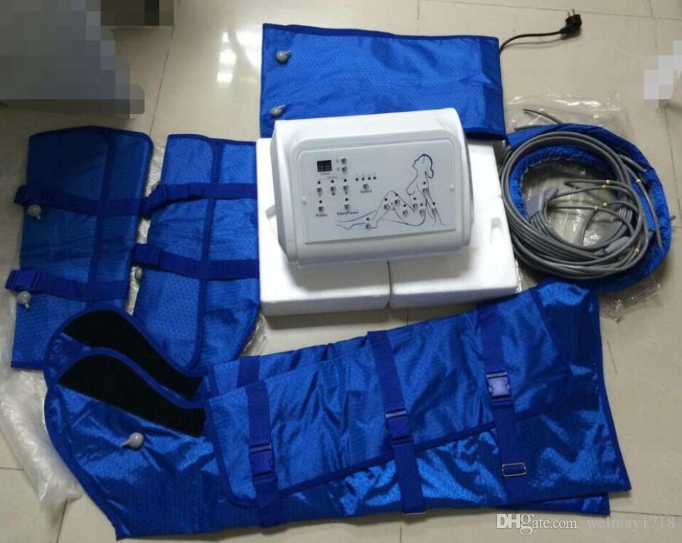 máquina pressotherapy do emagrecimento do uso home portátil dos termas do salão de beleza, drenagem linfática pressotherapy