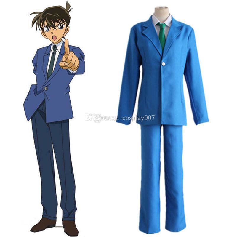 지미 쿠도 코스프레 의상 일본 애니메이션 형사 코난, 케이스 옷을 입은 무도회 / 마디 그라 / 카니발 의상