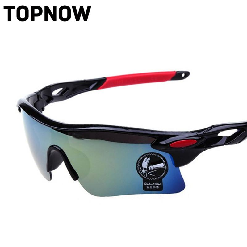 Wholesale- New Hot Fashion Sunglasses Men Cool Outdoor Sport Eyewear Goggles Driving Night Vision Glasses masculino
