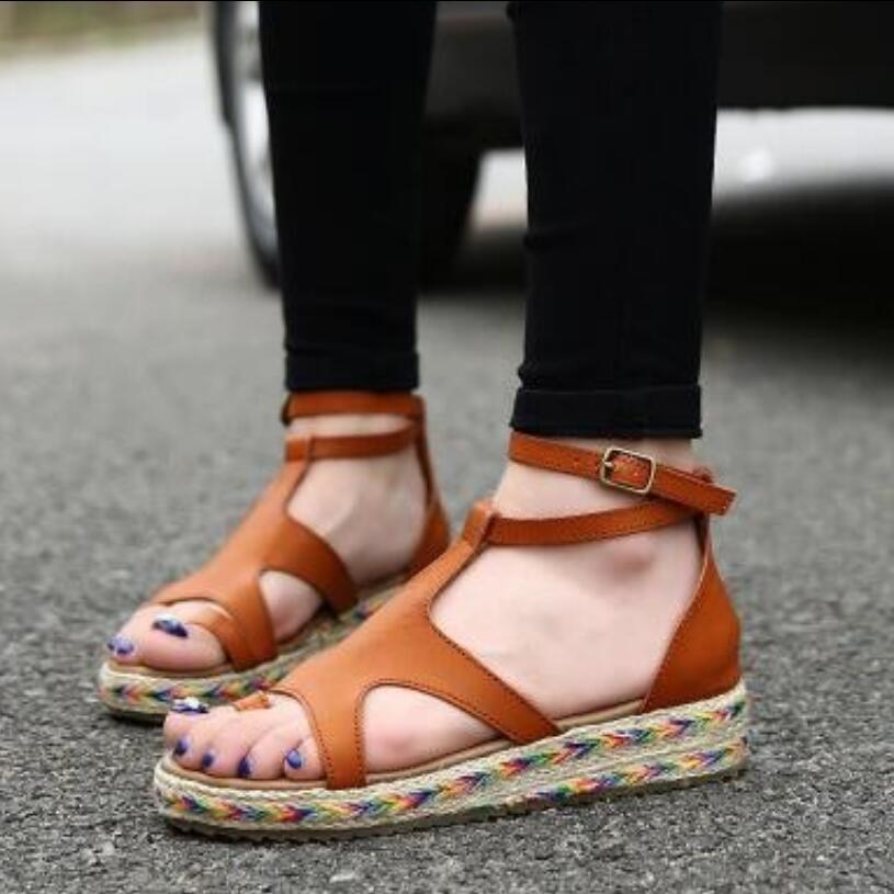 sale online get cheap fantastic savings Brand Shoes Woman Plus Size35 43 NEW LOOK Gladiator Sandals Summer Flat  Sandals Boots Women Shoes Gift Socks Silver Shoes Mens Sandals From  Lupanpan, ...