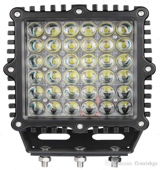 """EMS 9 """"360W 36000lm Cree-Chips LED, die Arbeits-hellen Offroad SUV ATV-Punkt-Bleistift-Lichtstrahl 36LED * 10W Leistungs-hellen W / Flut-Abdeckungs-Falles fahren"""