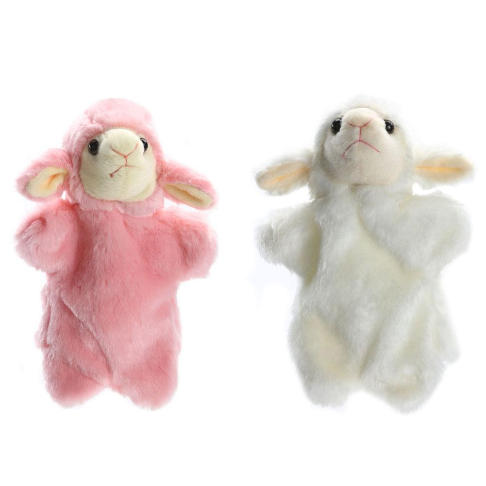 Kids Doll Hand Puppet Bring Kids Fun Puppet Toy Gifts for Children Beige