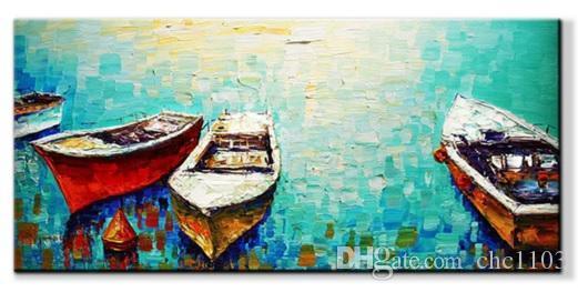 Pintura a óleo moderna / abstrata pintados à mão óleo da arte da parede pintura a óleo sobre tela XD1-306