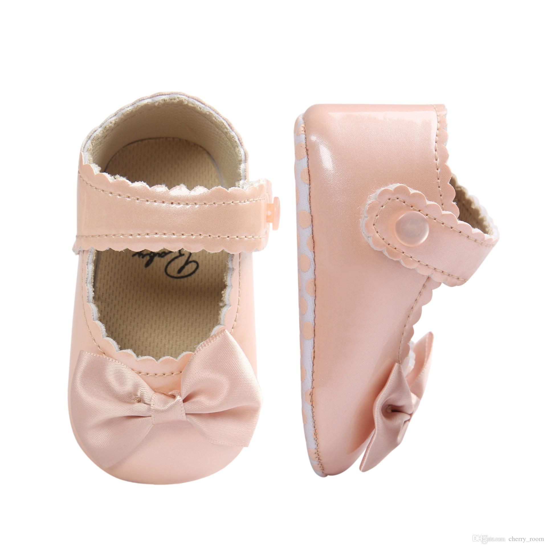 Baby Girls Shoes 2017 New Spring Butterfly Infant First shoes Cute