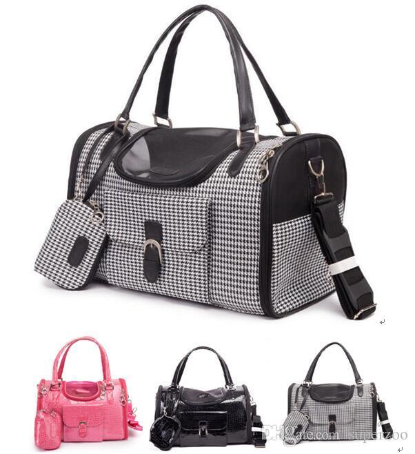Pet Supplies Dog Bag Cat Bag Dog Carrier Tote Luggage Bag Traveling Portable Shoulder Bag Convenient Fashion 1PC 004#