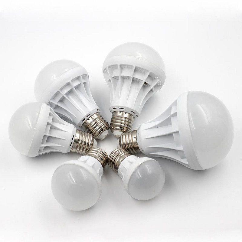Free Shipping High Quality 3W 5W 7W 9W 12W LED Bulbs Energy-Saving Light E27 Base Globe Light Bulb Wholesale Cheap Lightings Lamp 220V-240V