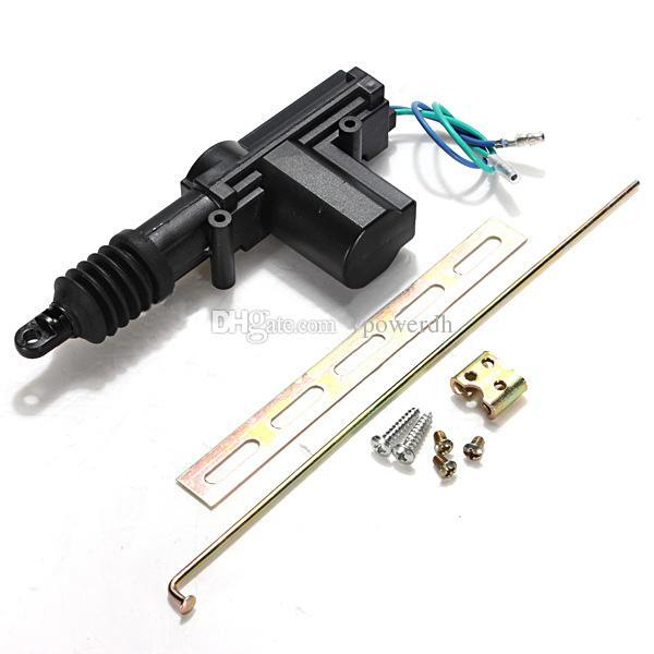 Metal /& Plastic Black Car Heavy Duty Door Lock Actuator Motor 2 Wire 12V