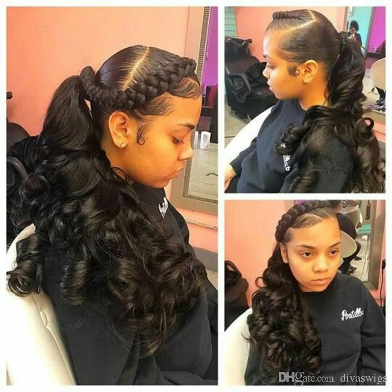 20 Inch Deep Wave Natural Black Hair Extensions