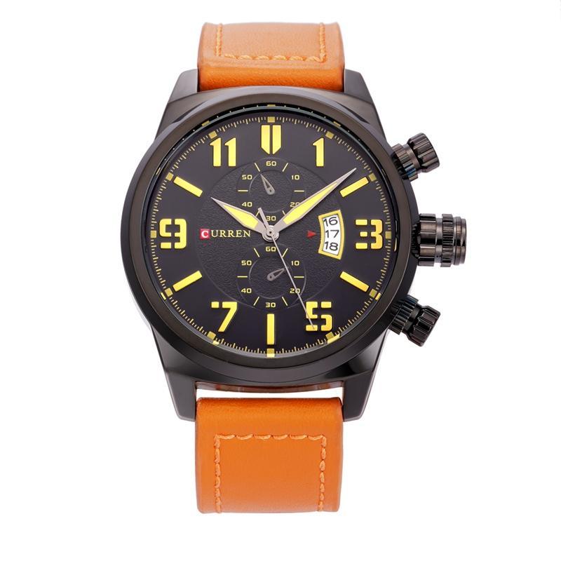 CURREN наручные часы мужские часы Top Brand Luxury популярные известные мужские часы Кварцевые часы бизнес кварцевые часы Relogio Masculino 8200