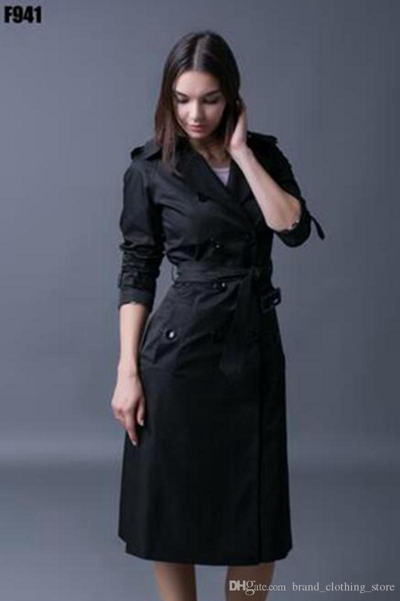 Le donne in primavera e in autunno nuova edizione han boutique di moda lungo raglan grandi cantieri trench coat / S-4XL