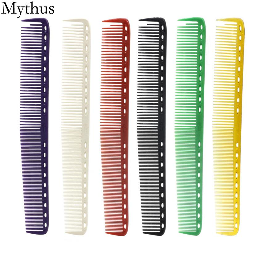 Japan Professional Salon Hair Cutting Comb,6 Pcs/Lot YS Durable Hairdresser Barbers Haircut Comb,6 Colors Could Be Choose YS-6