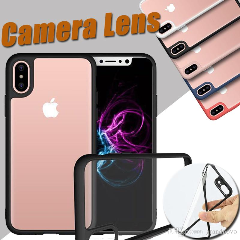 Einhorn käfer hybrid weichen tpu silikon transparent abdeckung case für iphone xs max xr x 7 6 6 s plus 5 5 s samsung galaxy note 8 s8 kameraobjektiv