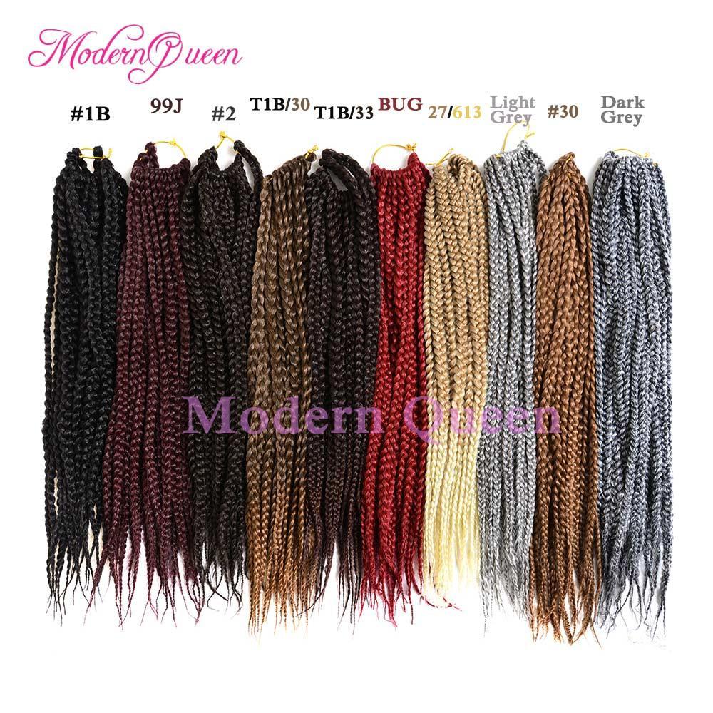 Discount 20inch Ombre Havana Crochet Mambo Braiding Hair Twist 3s