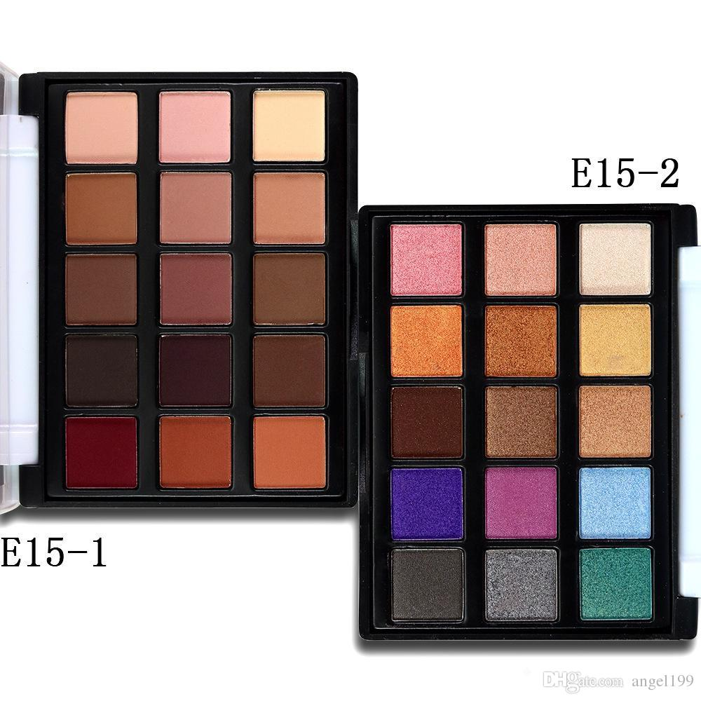 POPFEEL mini 15 color eye shadow The earth color pearl matte makeup eyeshadow Palette DHL free shipping