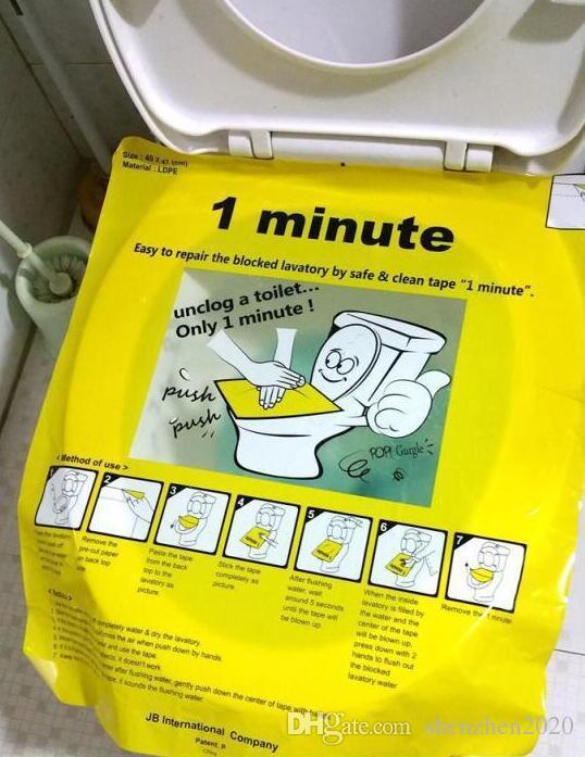 1 분 pongtu 화장실 일회용 스티커 플런저 스티커 시트 및 바닥 용 화장실 용 시트 장비 3 단 시트 위생적 인 힘 없음 더티 없음