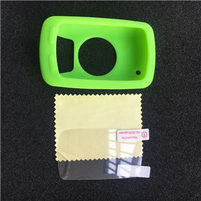 Bicycle Silicone Rubber shockproof Protect Cover Case For Garmin Edge 810 Bike Cycling GPS Computer Accessories +LCD Screen film