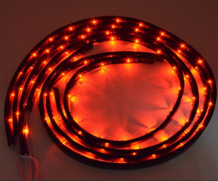 ブランドの新しいワイヤレスリモートのマルチカラーは車のキットLED Glow Neon Light Kit(2 * 36