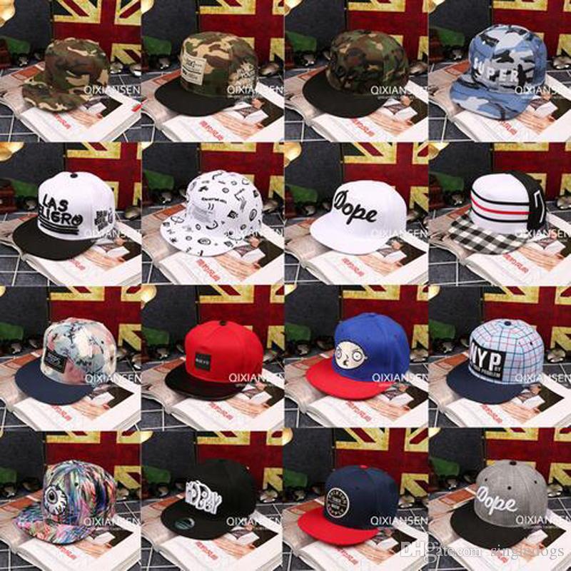 Cappelli moda Graffiti Snapback regolabile Berretto da baseball Cappello Unisex Hiphop Sport Cappelli Donna Uomo Casual Headware con alta qualità