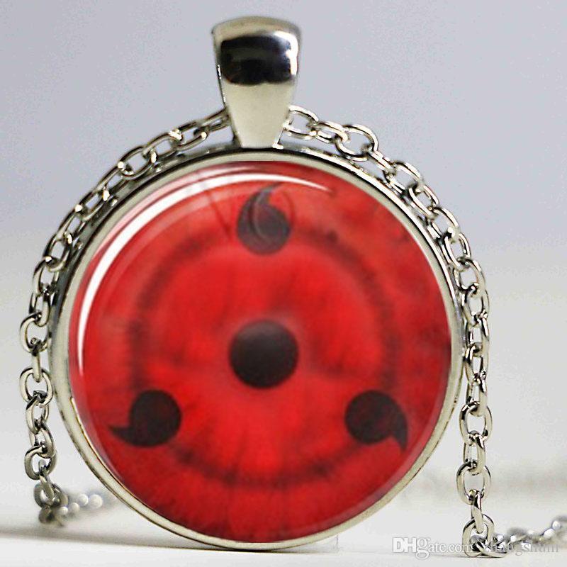 Naruto Sharingan pingentes visões 1 lass photo Jewelry Necklace Jewelry