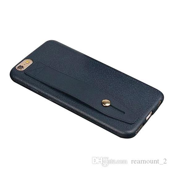 Custodia in pelle PU per iPhone 6 6 Plus. Cover posteriore per iPhone 6 Plus. Custodia per cellulare
