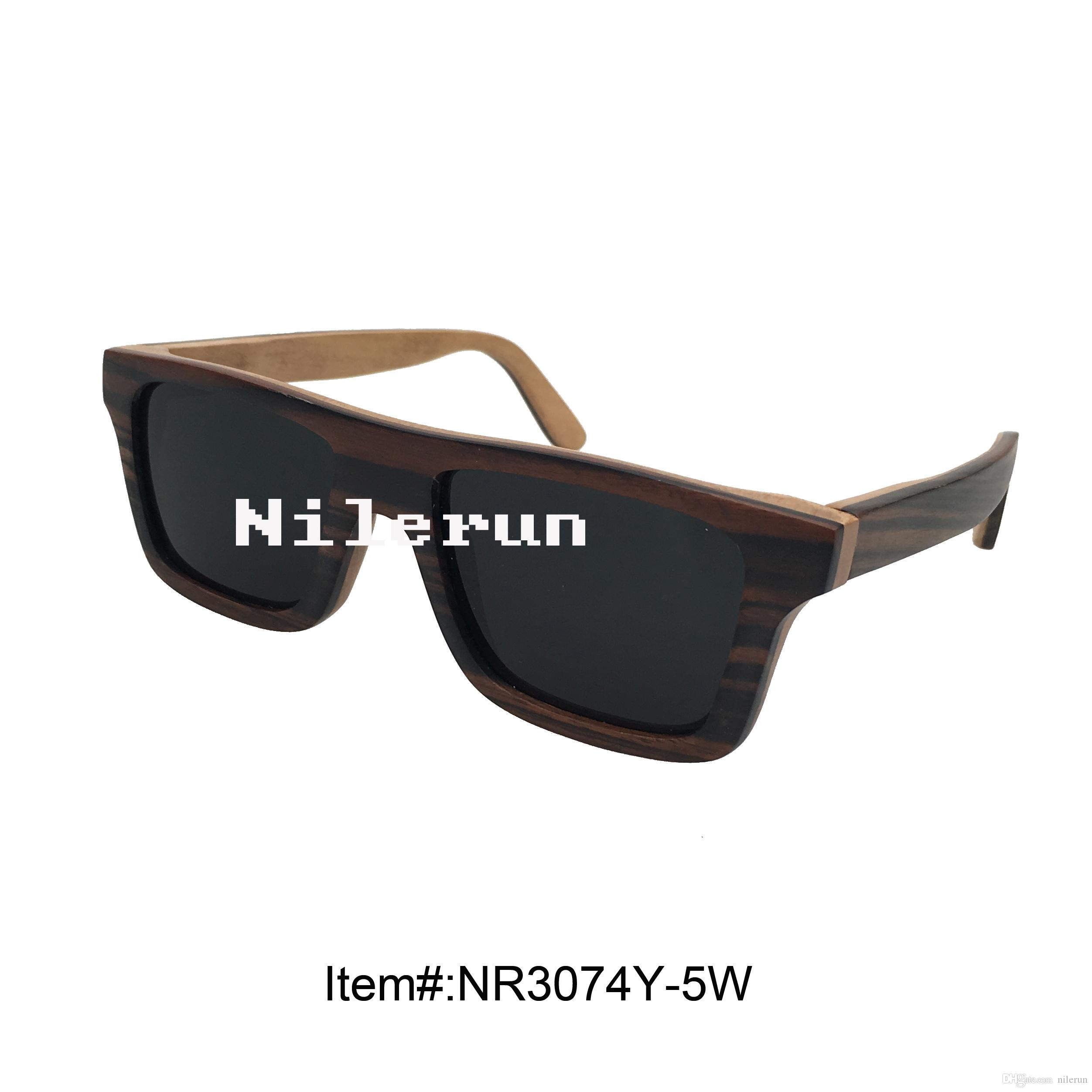 Dekorative Fancy-Sperrholz-Sonnenbrillen