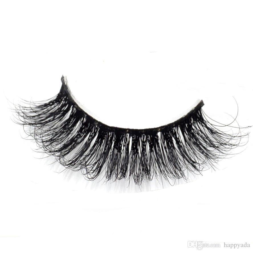 Mink Eyelashes 3d Mink Hair Lashes Wholesale 100% Real Mink Fur ...