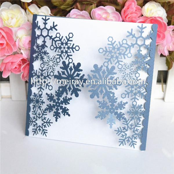 Wholesale Thank Laser Cut Customied Best Friend Birthday Wishes Image Snowflake Flavors Invitation Card Greeting Cards Online Free Greeting E Card