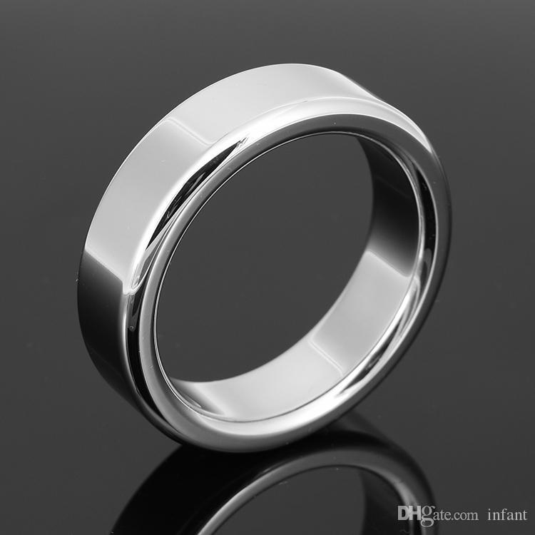 sex toys adultes pour hommes anneau de retard de sexe en acier inoxydable A024 (6mm), anneau métallique JJ en métal, petit dispositif de chasteté masculine, ceinture de chasteté