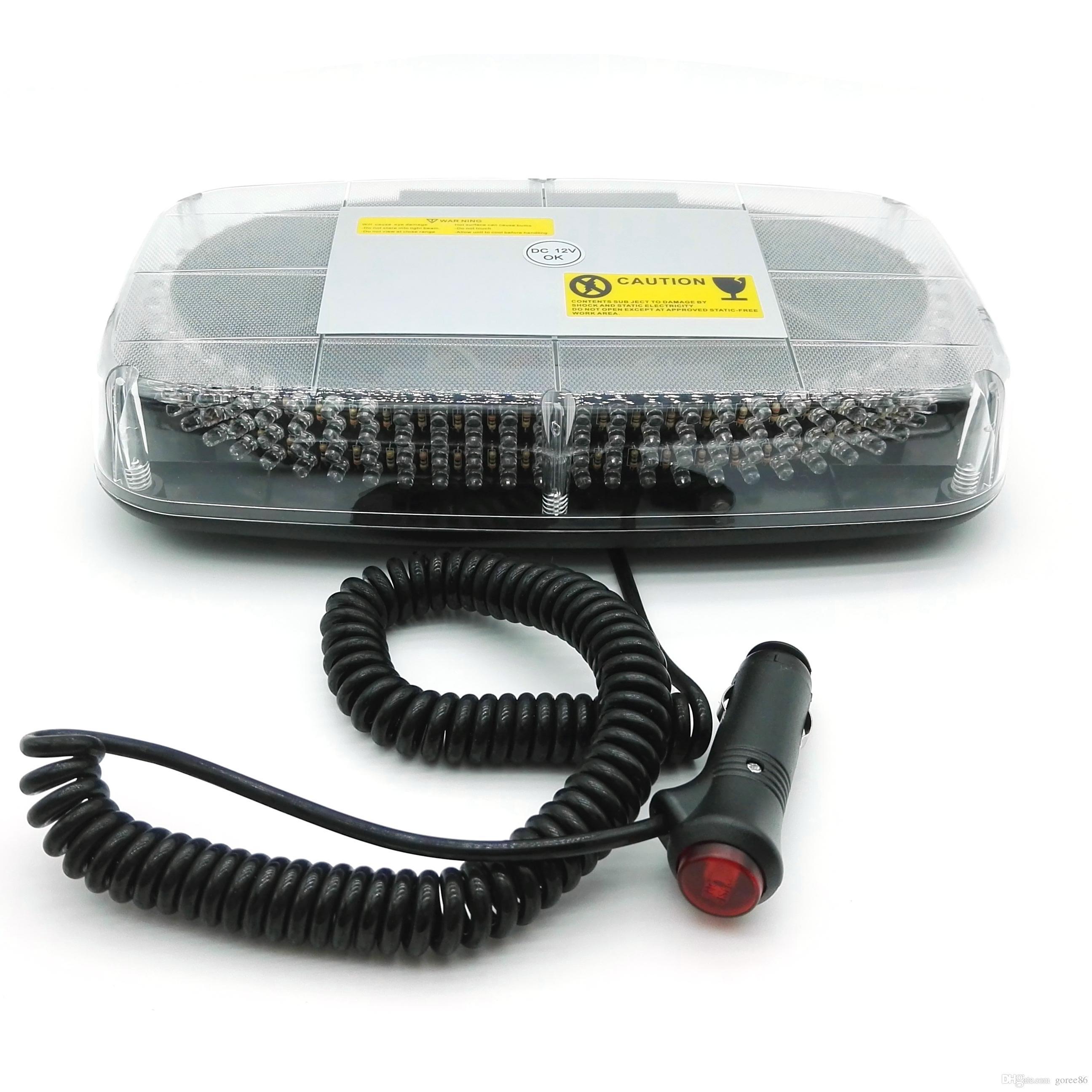 Led Car Roof Flashing Strobe Emergency Light New 240led Dc