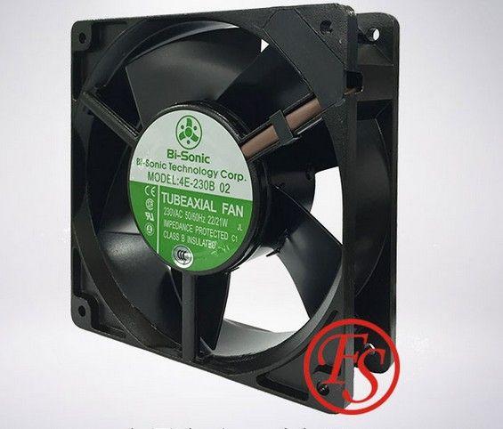 Bi-Sonic 4E-230B 12038 AC230V 22//21W metal frame high temperature cooling fan