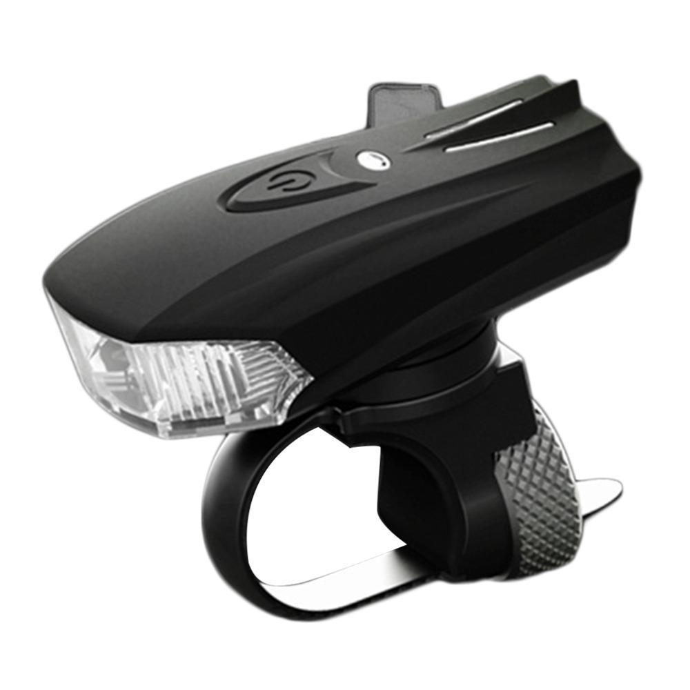 Ciclismo Luz de La Bicicleta Sensor de Advertencia de Sensor de Choque Sensor de Luz LED Inteligente Lámpara Delantera USB de Carga Nocturna envío gratis