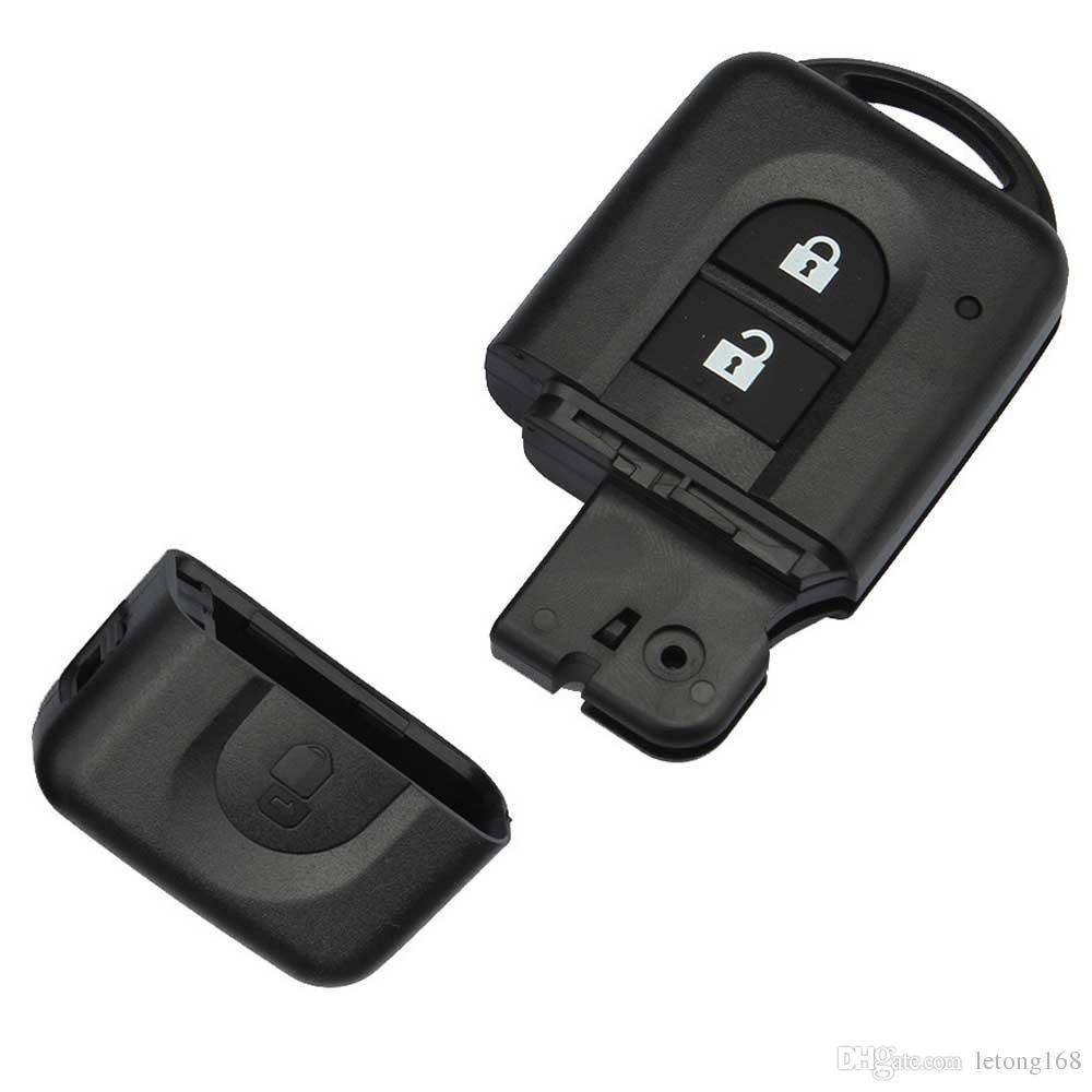 Guaranteed 100% 2Button Remote Key FOB Case Shell For Nissan MICRA Xtrail QASHQAI JUKE DUKE NAVARA Free Shipping