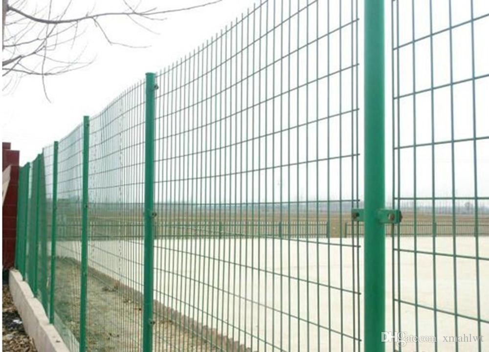 High Quality Beautiful Double Horizontal Wire Fence Panel Powder ...