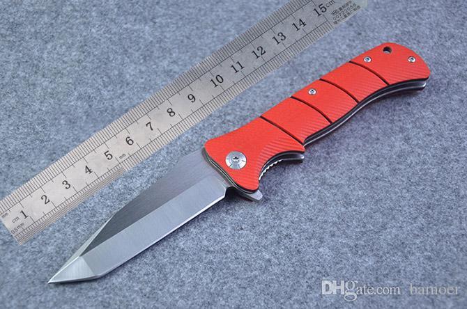 새로운 Floding 칼 Survivla 실제 낚시 플리퍼 접는 칼 전술 FAST OPEN 칼