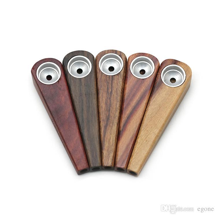 목재 파이프 브라 금연 파이프 Tobaco 파이프 다양 한 색상 미니 파이프