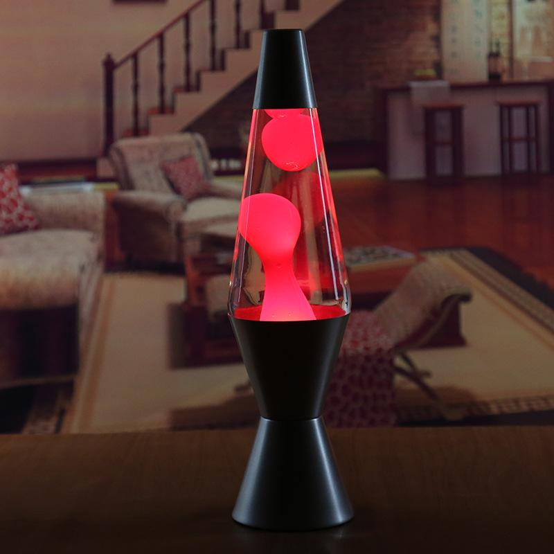2020 Home Classic Lava Lamp 14 5 Inch Zebra Lava Lamp  Hot Pink Wax  Clear Liquid Outdoor