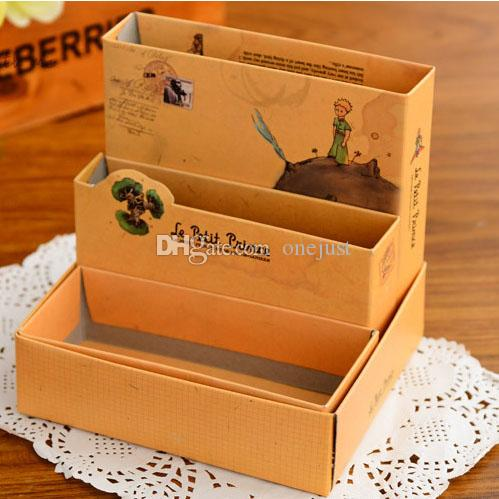 Makeup Cosmetic Organizer DIY Paper Board Storage Box Desk Decor Stationery E00214 ONET