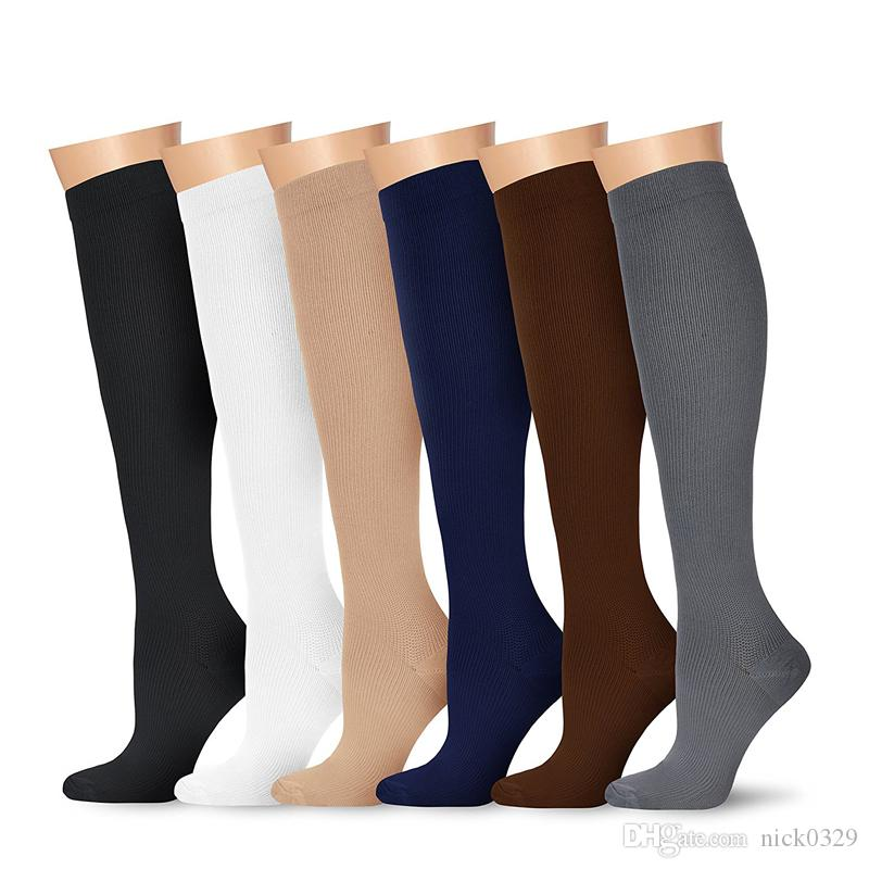 Casual Compression Socks For Women 3D Print Knee High Boot