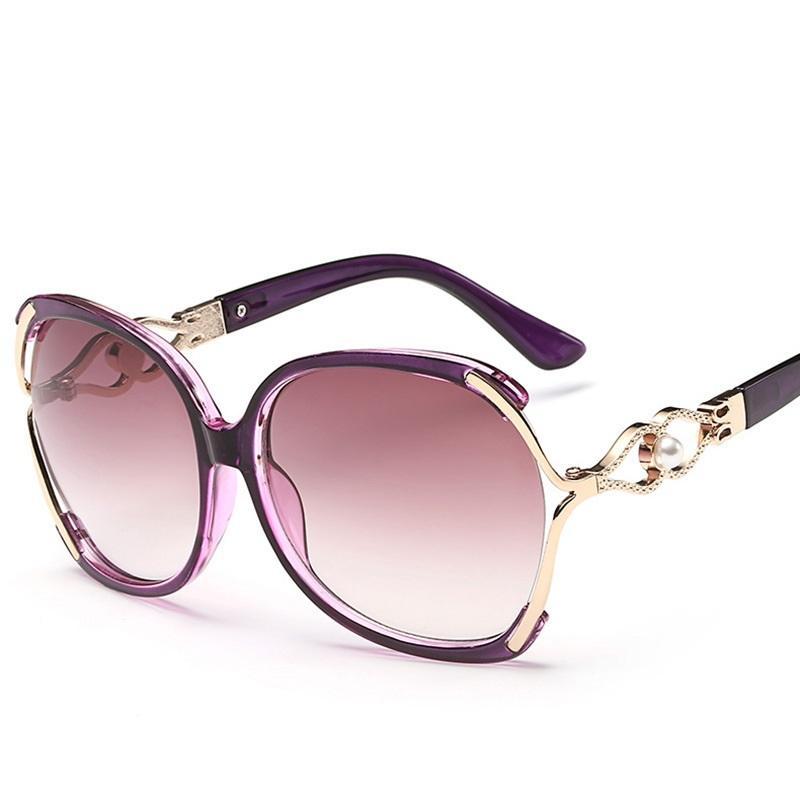2017 New Vintage Perle Sonnenbrille Frauen Oculos De Sol Feminino Mode Gradienten Sonnenbrille Frauen Markendesigner Sonnenbrille 142 Mt