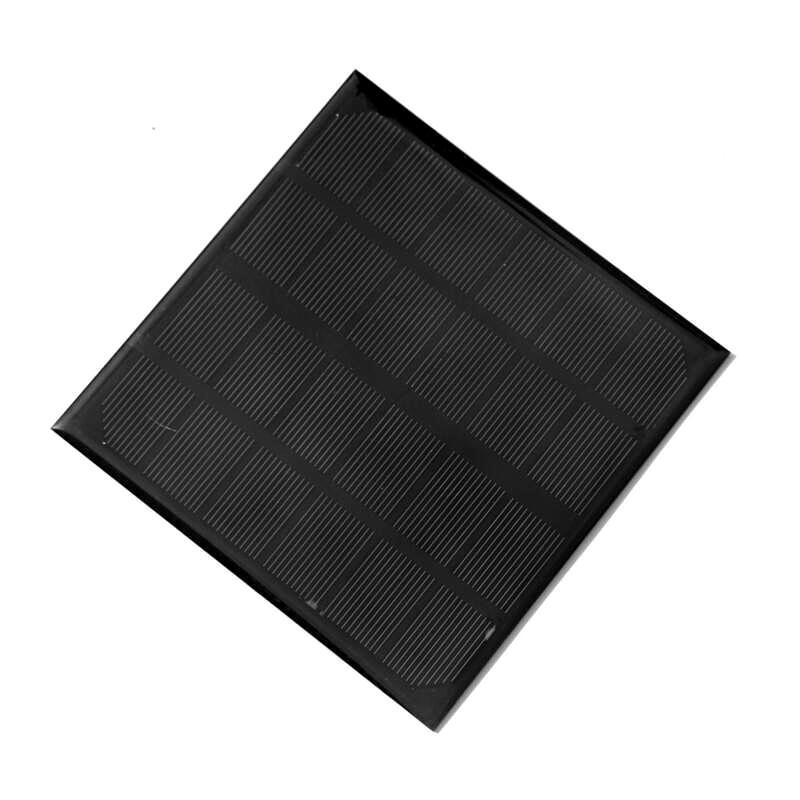 عالية الكفاءة 3 واط 6 فولت نظام خلية الشمسية أحادية diy الشمسية لوحة ل 3.7 فولت دراسة babttery 145 * 145 * 3 ملليمتر مجانية