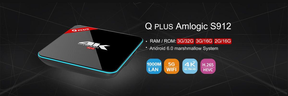 VONTAR Z5 SUPERMAX Amlogic S912 Octa Core Android TV Box 7 1