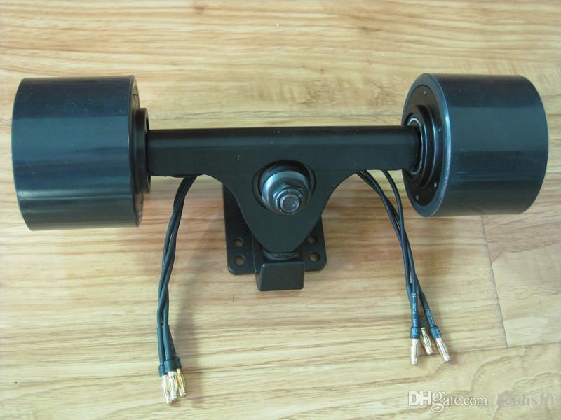 Acheter Kit De Double Entrainement De Moteur De Moyeu De 72mm Pour Le Skateboard Electrique Diy De 179 9 Du Haidis10 Dhgate Com
