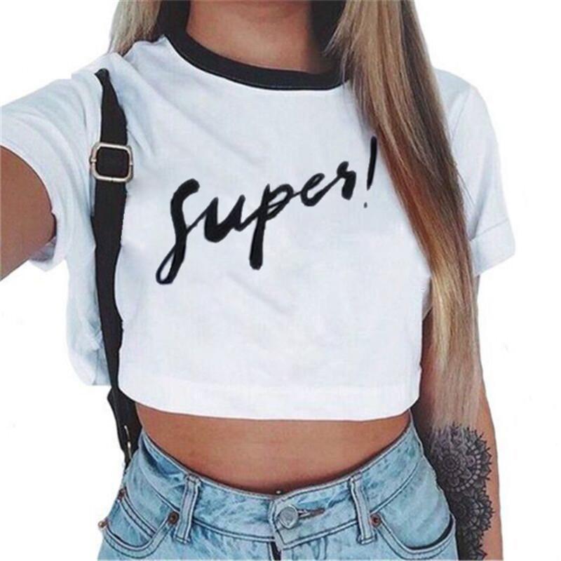 Toptan-2017 Yeni Moda marka Yaz tarzı Çapa baskılı t shirt kadın t-shirt O-Boyun pamuk tee tops
