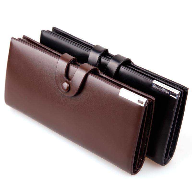 جديد أزياء الرجال محافظ عارضة محفظة الرجال محفظة قابض حقيبة ماركة جلد طويل محفظة تصميم حقائب اليد لل شخصية الرجال محفظة