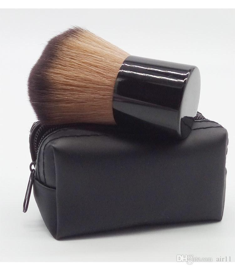 HOT Makeup M 182 rouge brush \blusher brush+Leather bag free shipping 240pcs