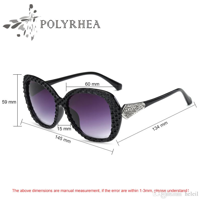 ac84caa4138 High Quality Sunglasses Vintage Women Brand Designer Black Oversized  Gradient Luxury Ladies Driving Sun Glasses With Box And Case