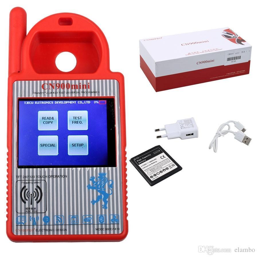 CN900 Mini Transponder Key Programmer V5.18 Mini CN900 for 4C 46 4D 48 G Chips With Best Price